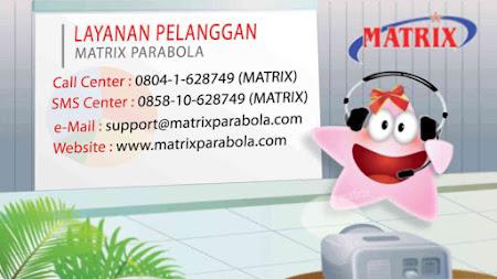 Logo Parabola Matrix Burger S2 Memakai Foto Sendiri