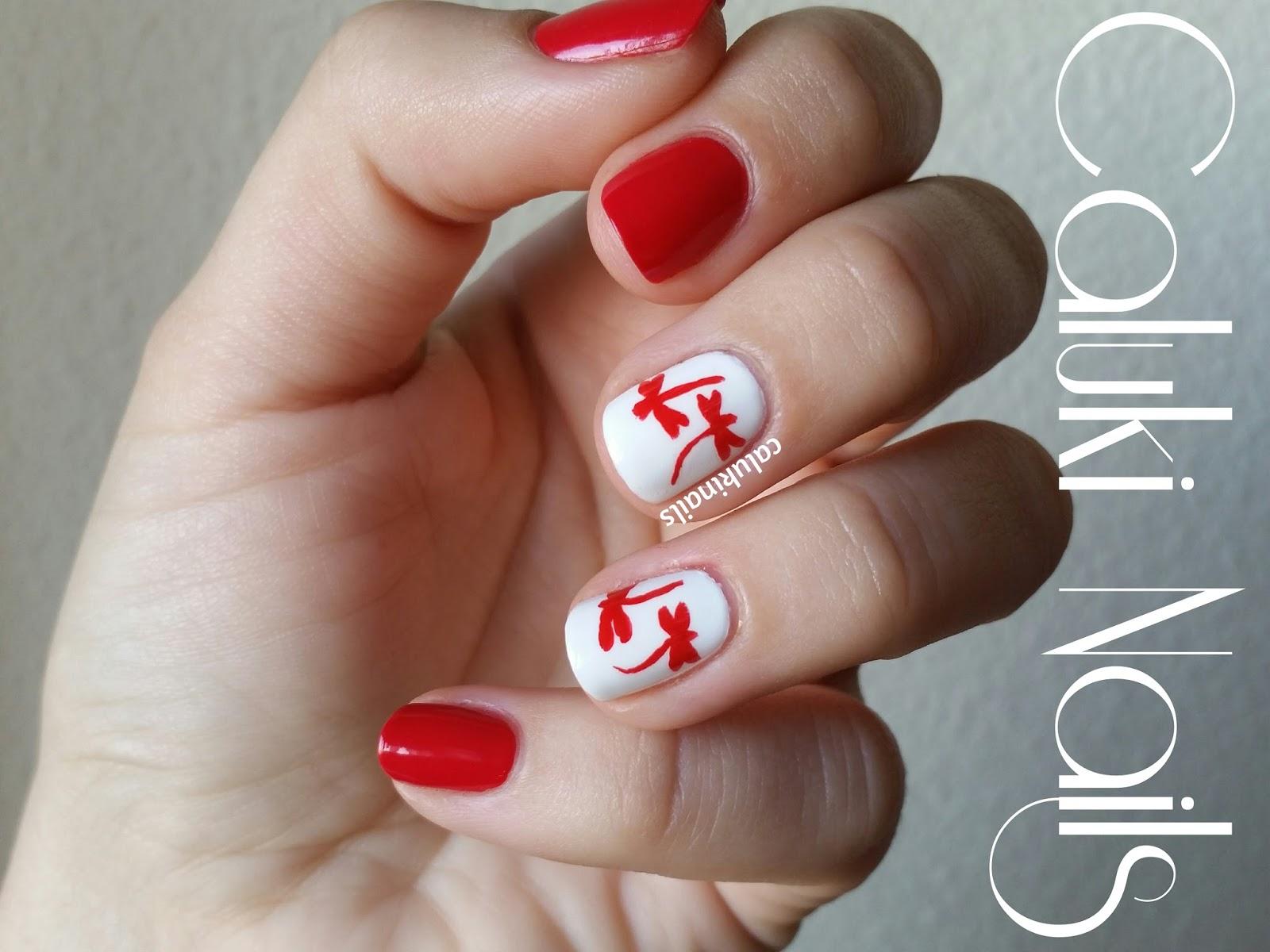 Caluki Nails Nail Art Libélulas Cumpleaños Bea