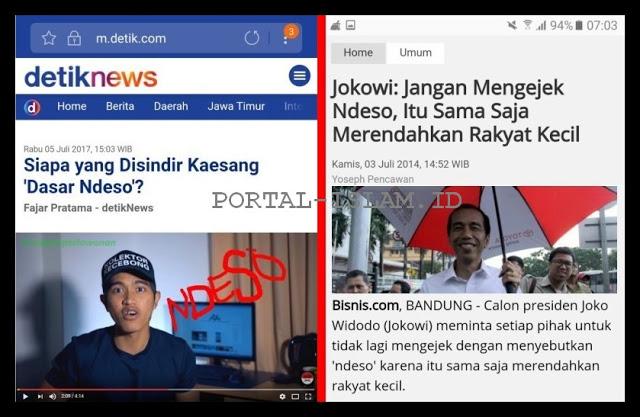 Tamparan Buat Kaesang Ejek Ndeso, Jokowi: Jangan Mengejek Ndeso, Itu Sama Saja Merendahkan Rakyat Kecil