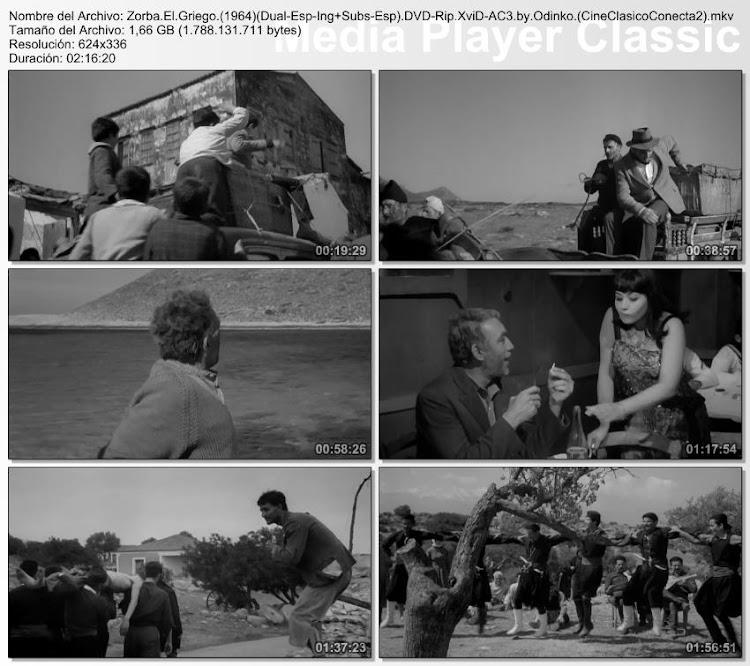 Imagenes de la película; Zorba el griego | 1964 | Alexis Zorbas