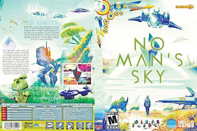 Capa No Man Sky PC