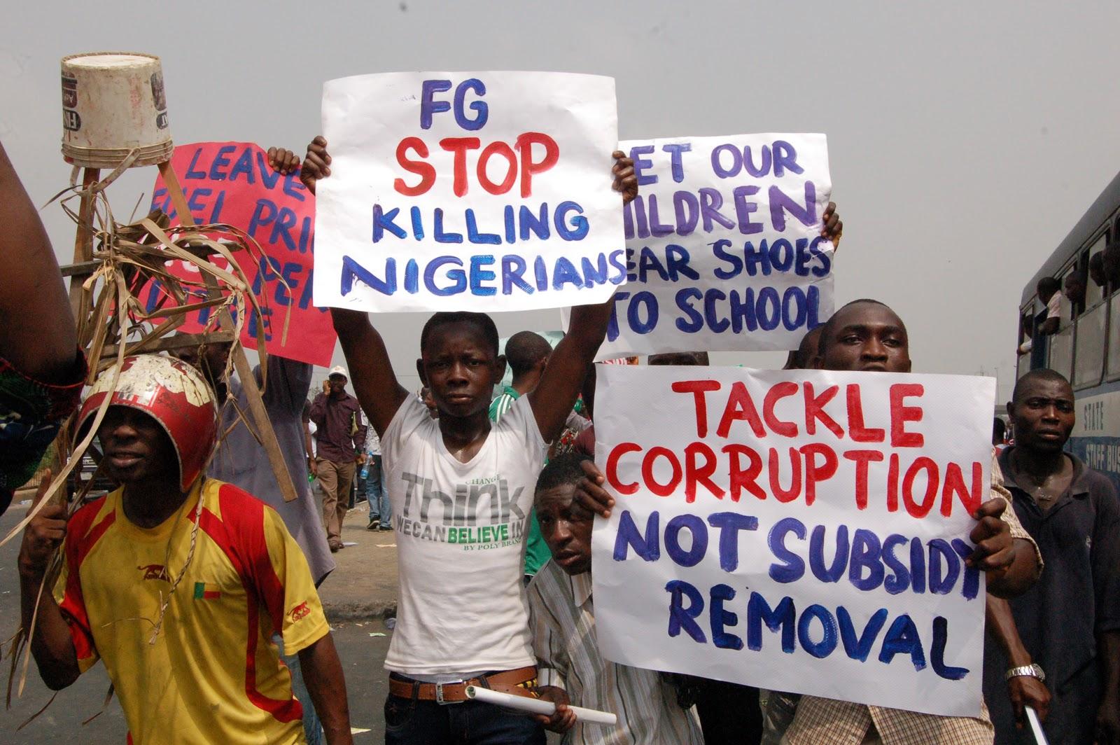 fuel subsidy problem nigeria