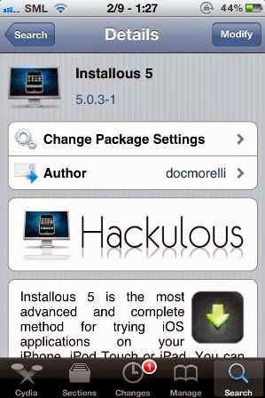 How to Install Installous From Cydia : CydiaApple