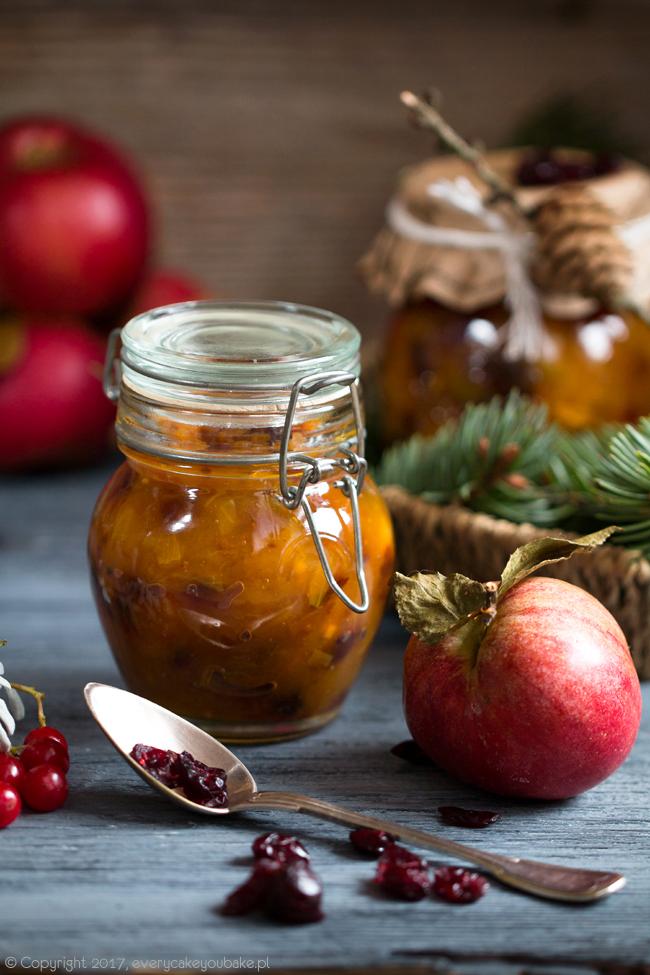 korzenny czatnej jabłkowo-żurawinowy do mięs i serów