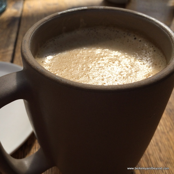 bulletproof coffee at Mission Heirloom Cafe in Berkeley, California
