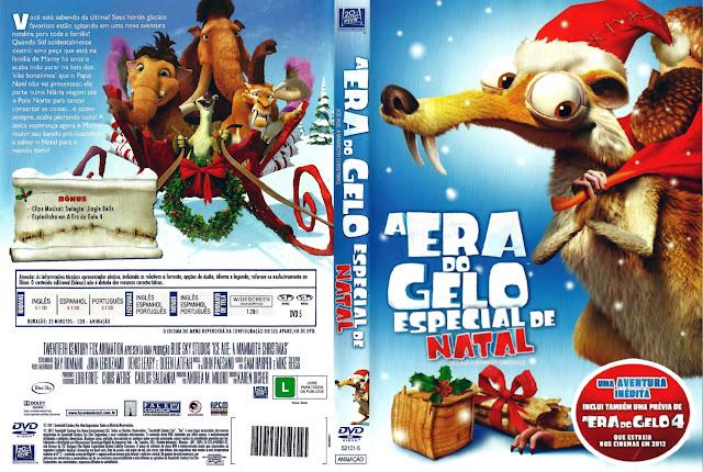 Capa DVD A ERA DO GELO ESPECIAL DE NATAL