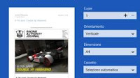 Come si stampa dalle app di Windows