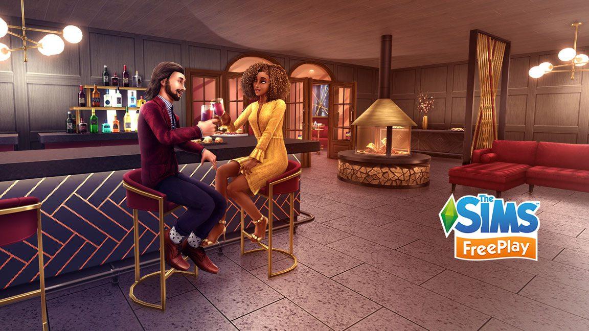 Sims Freeplay-Start-Dating