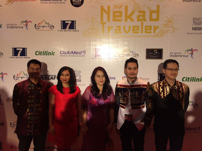 Gala Premiere The Nekad Traveler Lampung