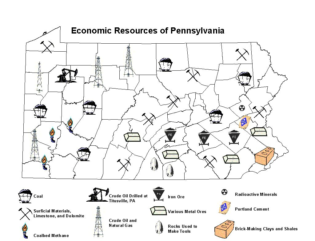 Emmas Awesome Science Blog Most Mined Mineral In Pa