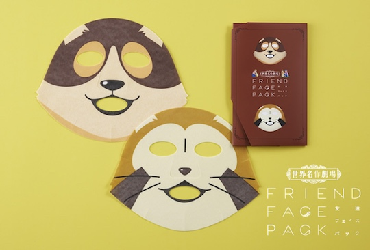 anime print face mask, facial mask, otaku face mask