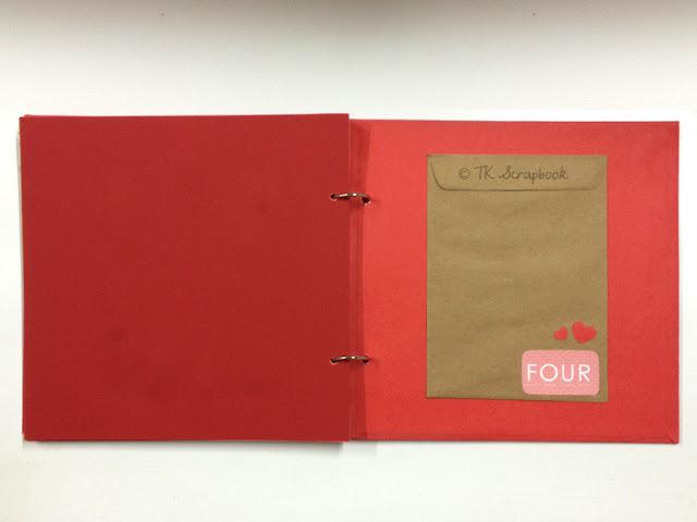 album de fotos scrapbook romantico