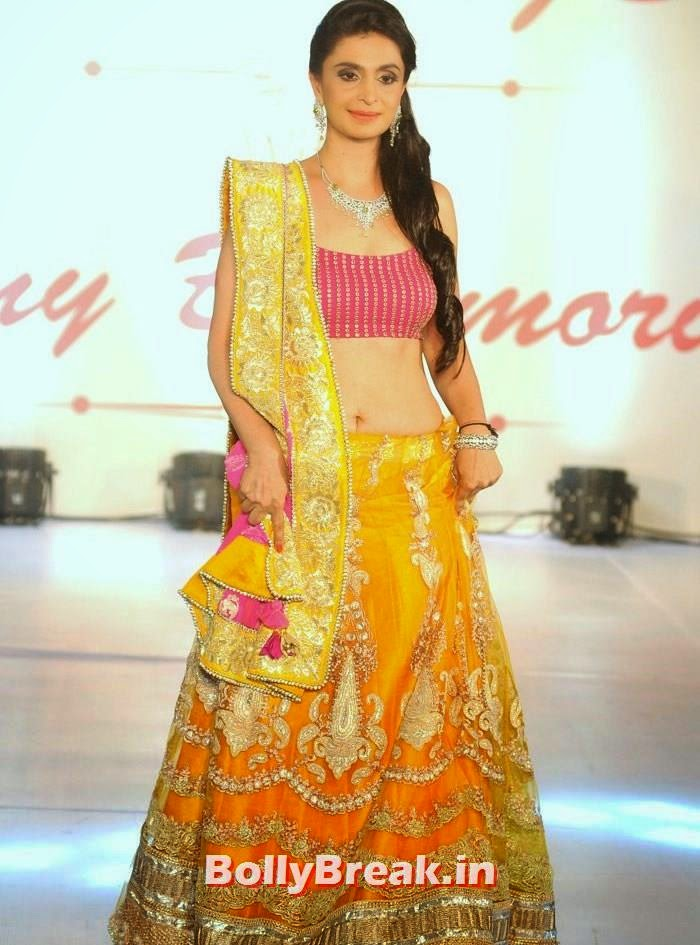 Sujata Duvre, Amy Billimoria Fashion Show - The Big Fat Fashionable Wedding