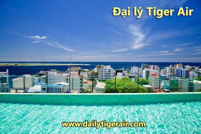 Du lịch đến quần đảo Maldives cùng hãng Tiger Air