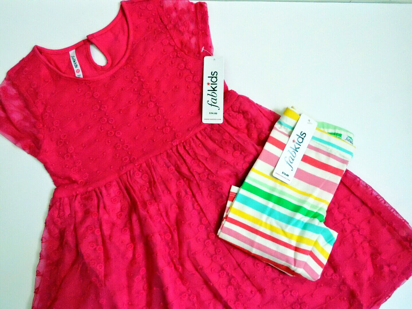 The Girls are Ready for Spring in their FabKids Outfits!  #LoveFabKids  via www.productreviewmom.com