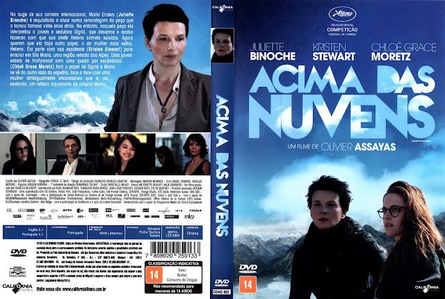 Capa DVD Acima das Nuvens