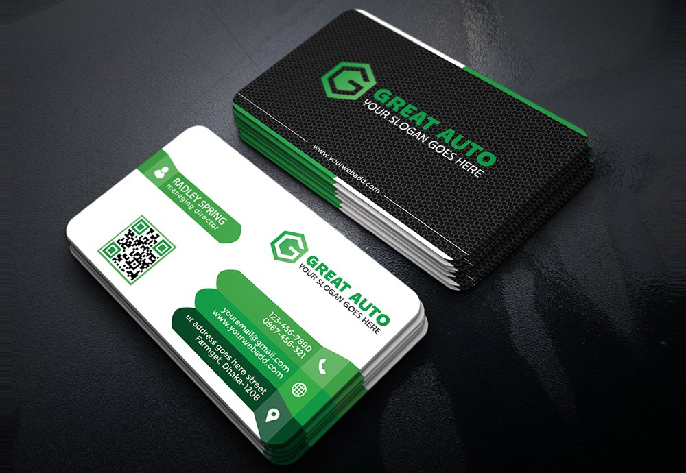 Best Free PSD Business Card Templates Photoshop Download - Business card template psd download