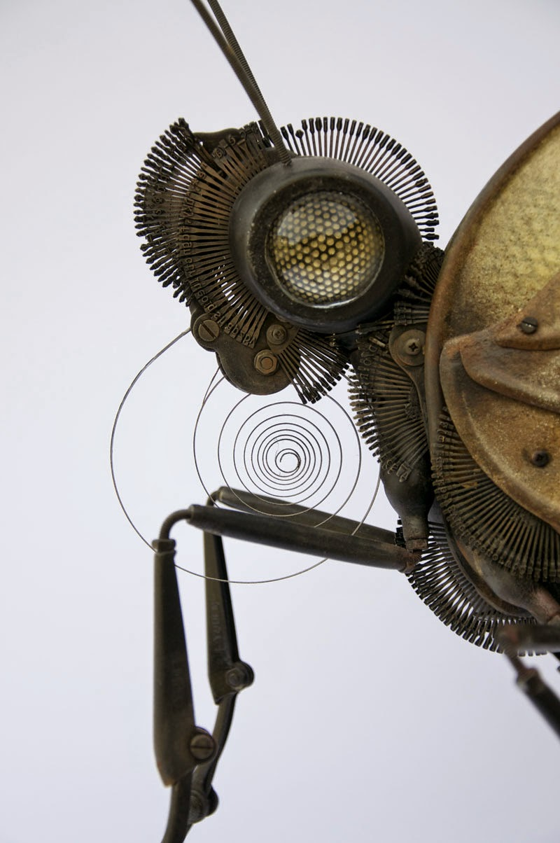 02-Butterfly-Detail-Edouard-Martinet-Recycled-Sculpture-Wildlife-www-designstack-co
