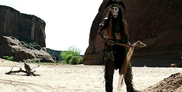 Johnny Depp - Tonto - The Lone Ranger