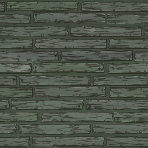 Cartoon Wooden Planks 4
