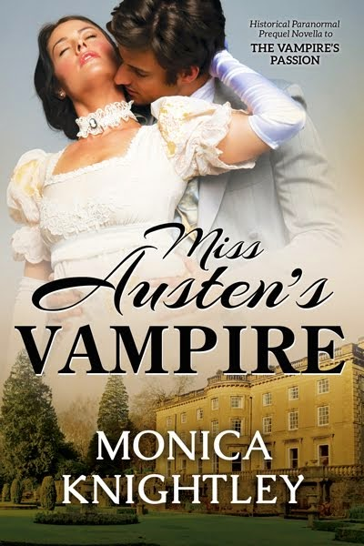 The Romantic Story of Jane Austen and the Vampire Gabriel
