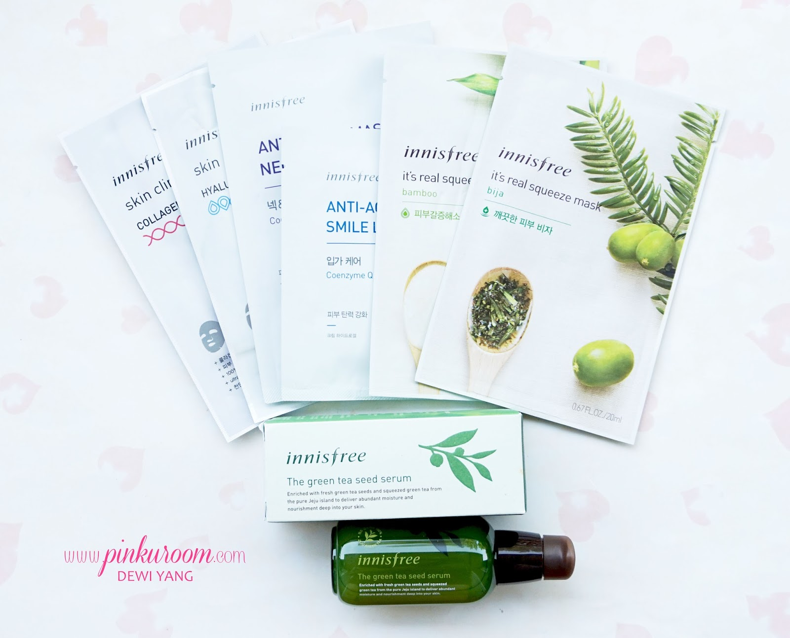 Innisfree Green Tea Seed Serum Review First Time Using Mask For The 80ml In This Post Im Going To Talk About Best Seller Product From That Loved By Many People Out There Which Is