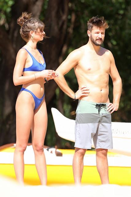 Taylor Marie Hill in Two Piece Bikini