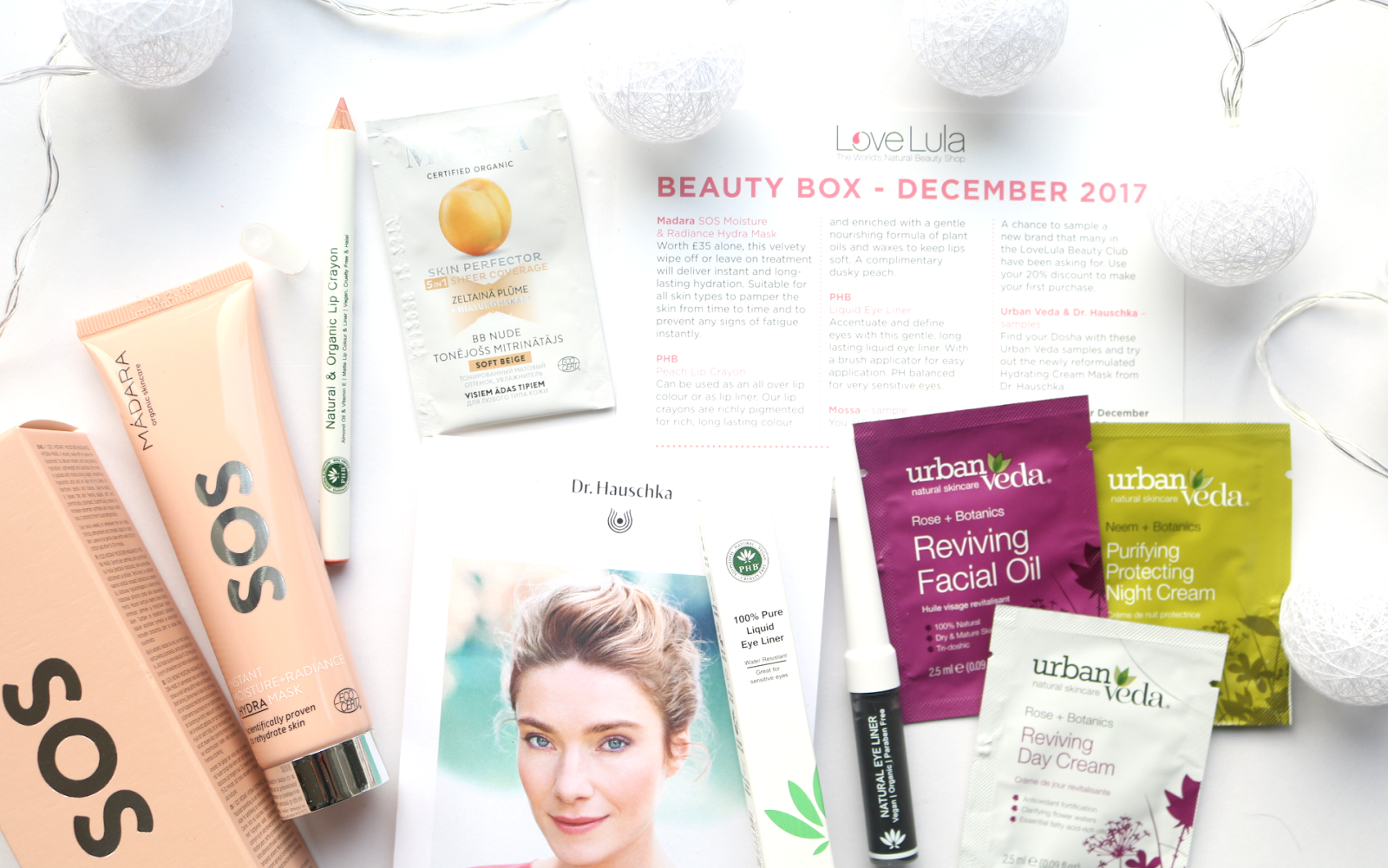 LoveLula Beauty Box - December 2017 review