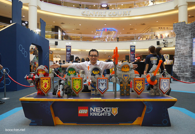 LEGO NEXO Knights Academy Event Showcase @ Midvalley ...