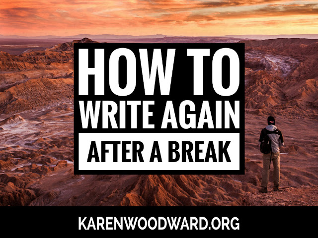 How to Write Again after a Break