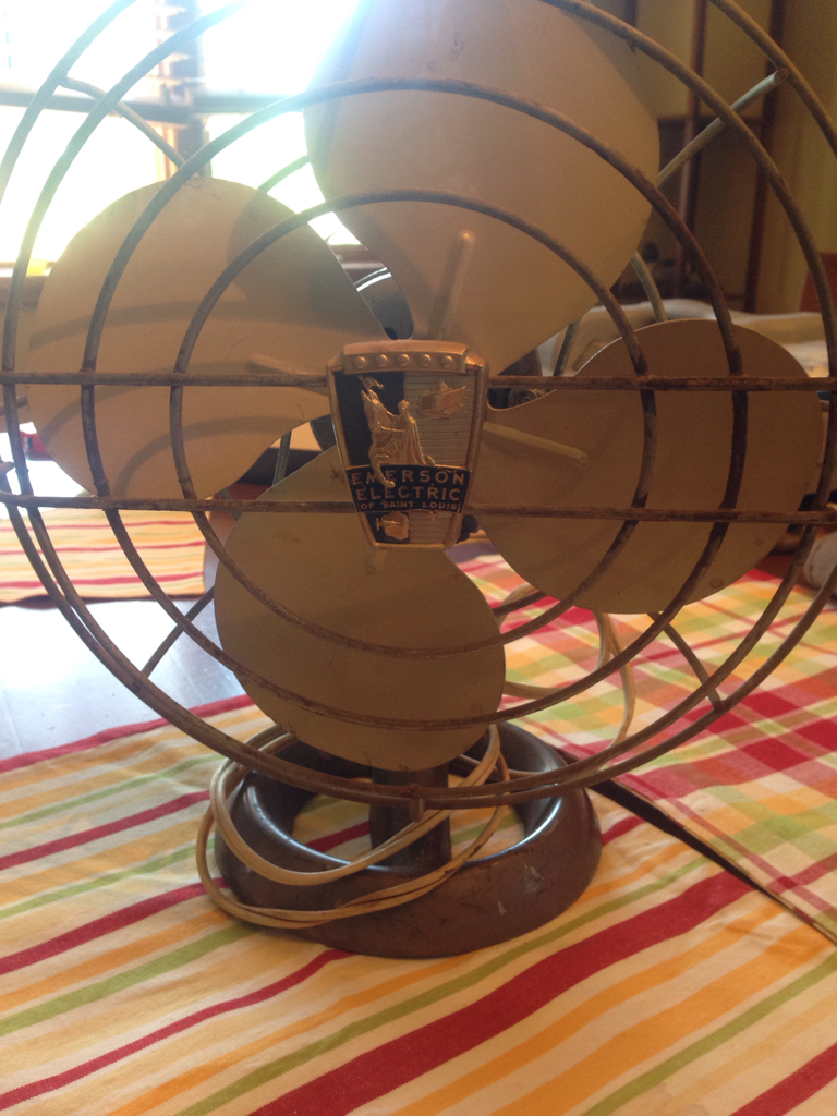 Vintage Emerson Electric Fan - Neighborhood Garage Sale Haul