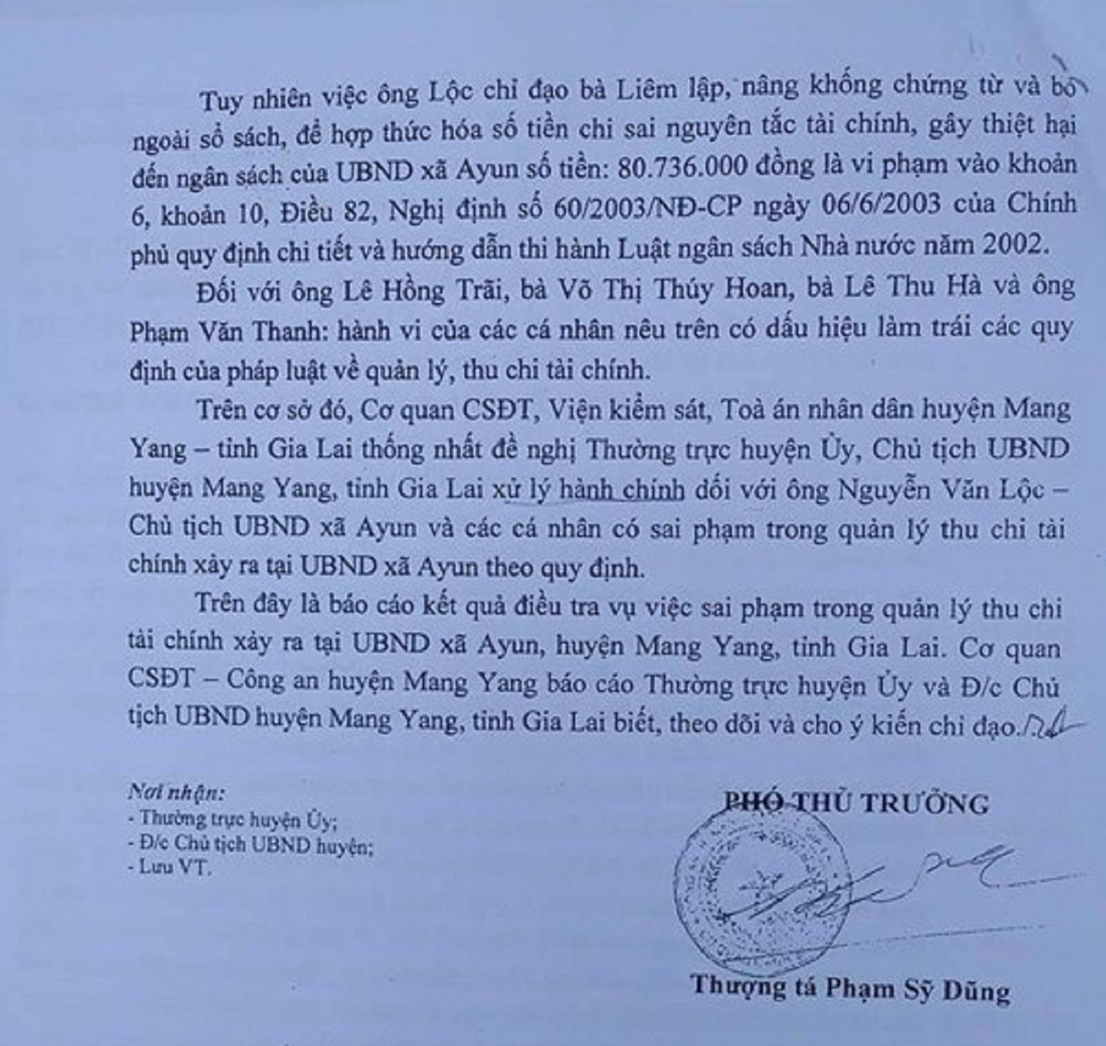Gia Lai: Chủ tịch xã mắc nhiều sai phạm xin từ chức nhưng không được chấp nhận