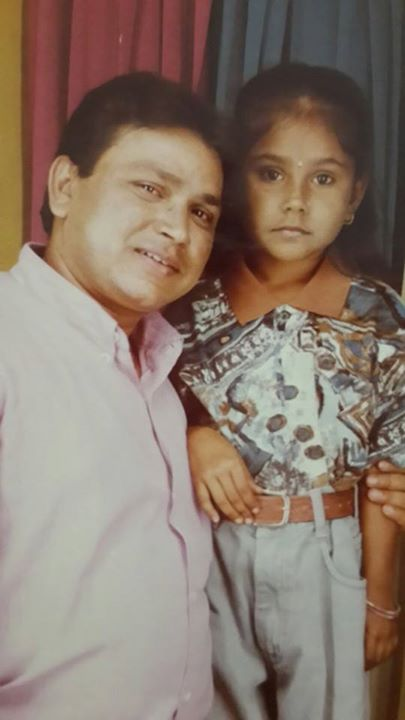 Priyanka Pandit childhood pictures (Bachpan) photo gallery