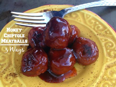 Meatballs, Honey, Chipotle, Recipe, BBQ, Broilers, Skillet