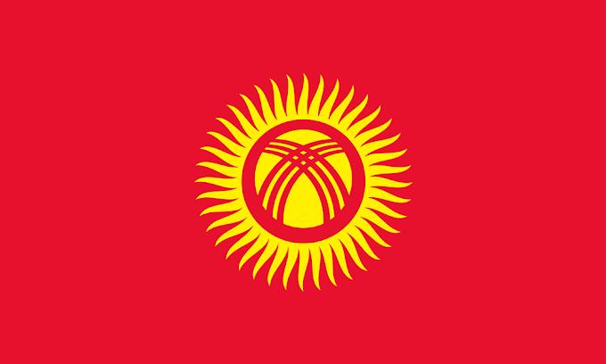 Flag of Kyrgyzstan | Kyrgyzstan Flag | Kyrgyzstan National Flag