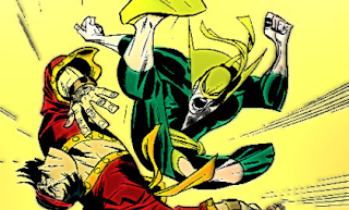 Iron Fist and Shang-Chi