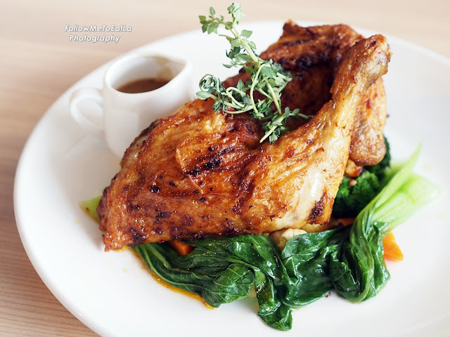 Slow Roasted Chicken Marinated With Special Herbs & Spices