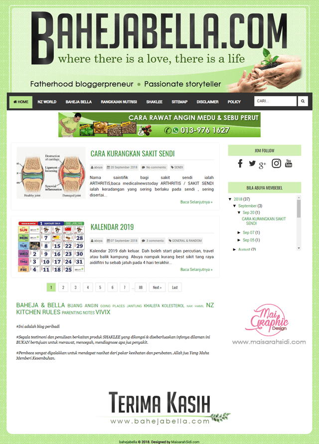 design blog Shaklee