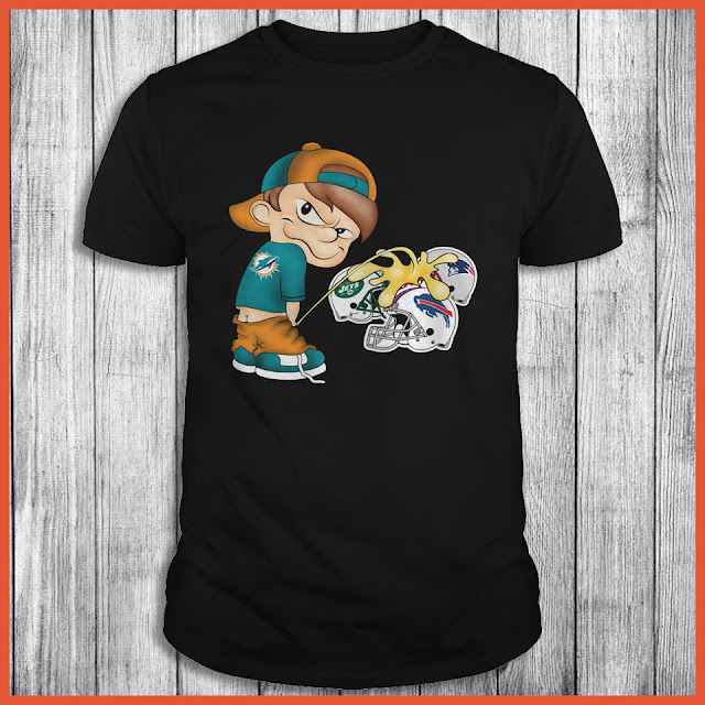 Miami Dolphins Piss On The Bills, Patriots, Jets Shirt