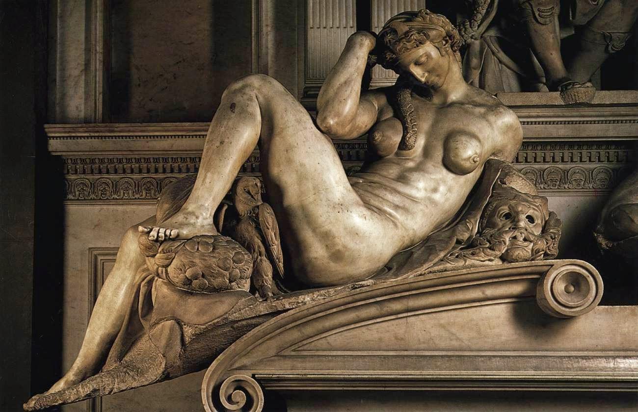 Night Michelangelo Buonarroti, Italian, 1526-33 Sagrestia Nuova, San Lorenzo, Florence