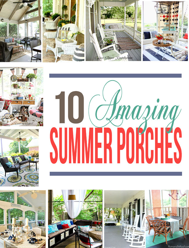 Summer porches ideas