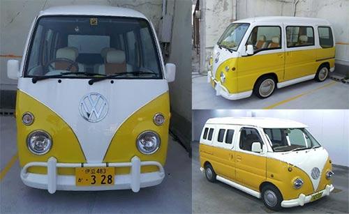 Modifikasi Hijet Menjadi VW Combi Dakota