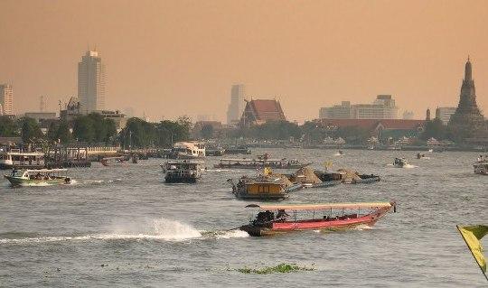 Sungai Chao Phraya, Bangkok
