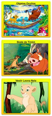 juegos de la guardia del leon de disney junior