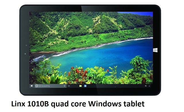 Linx 1010B - cheap quad core Windows tablet