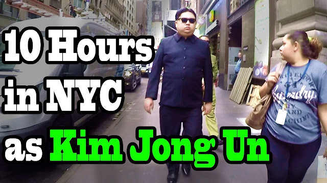 What Happened, Kim Jong Un Walking in New York City