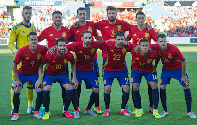 Spain Football Team photo 2016