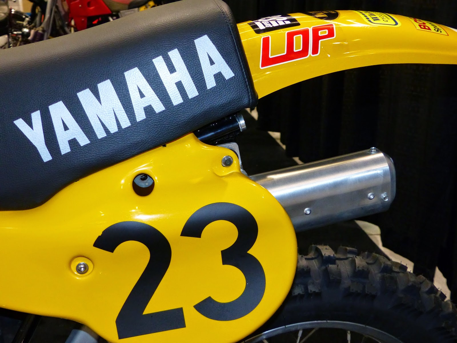Yamaha Yz Marty Moates Replica