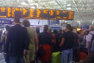 Train station delays