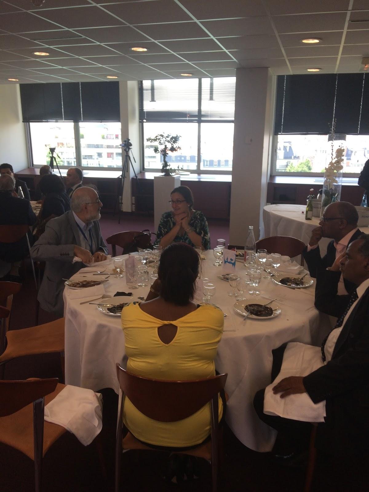 Eritrean Ambassador Hanna Simon held reception at